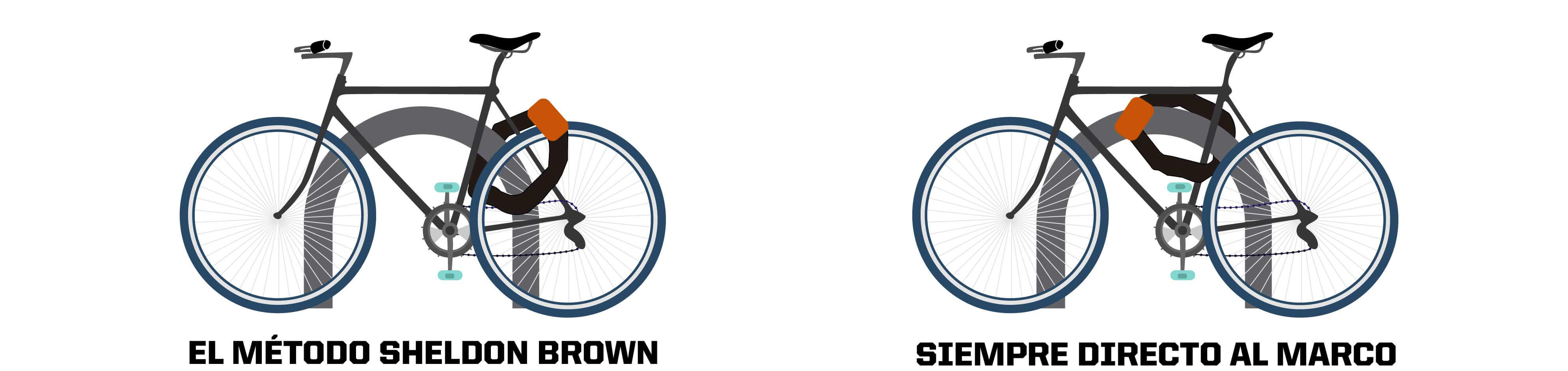 formas de asegurar bicicleta 2